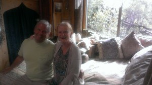 Thomas and Lou Ann visiting Ranjita and Oman